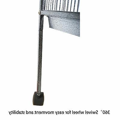 """63"""" Cage Bird for Cockatiel Finch Perch+Stand Easy"""