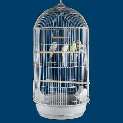 """64"""" Large Round Bird Cage Cockatiel Stand"""