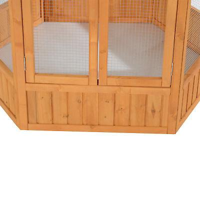"PawHut 65"" Large Bird Cage Parrot Finch Cockatoo Pet House"