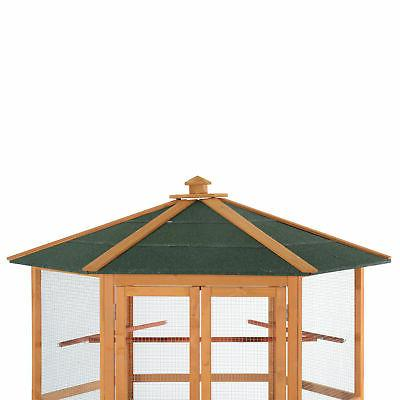 "PawHut 65"" Cage Finch Cockatoo Play Pet House"