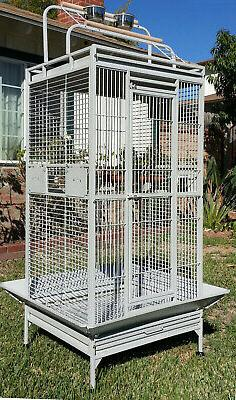 "68"" Large Bird Parrot Open PlayTop Cage Cockatiel Macaw Conu"