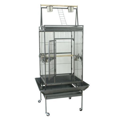 "68"" Open Cage Macaw Conure Aviary Finch"