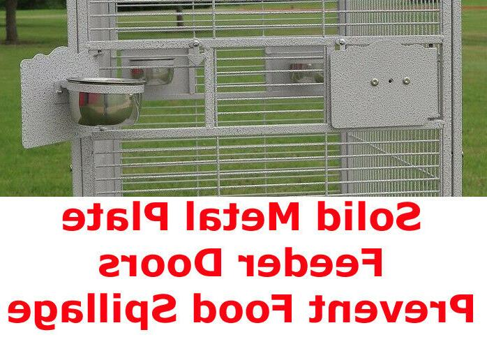 """Large 78"""" PlayTop Cage Conure Supply"""