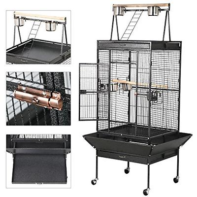 Yaheetech Iron Select Cages for Grey Top