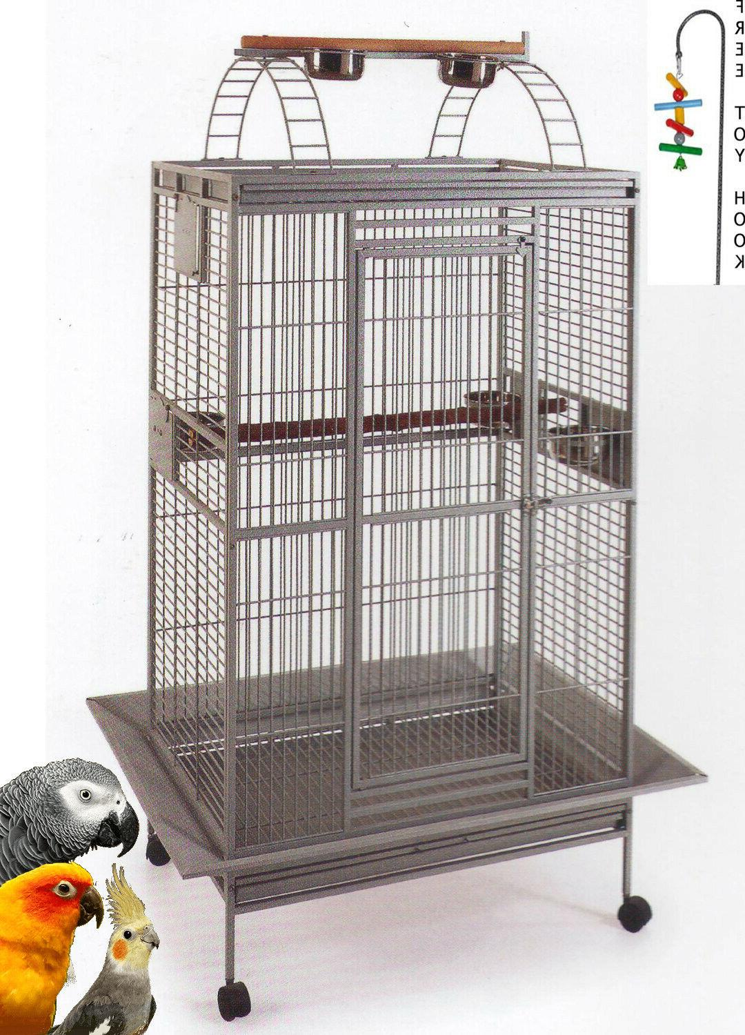 78 wrought iron rolling large bird cages