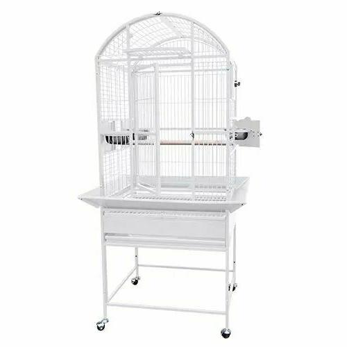 9002422 dome top bird cage 24x22x60 toy