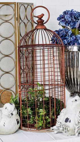 Deco 79 94673 Decorative Bird Cage