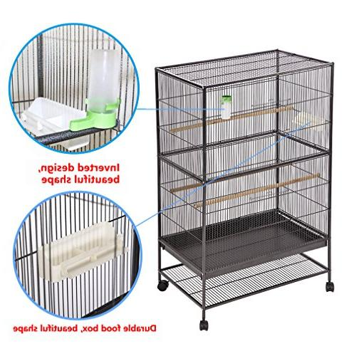 BestPet Flight Cage Large Birdcage Perch Iron Aviary