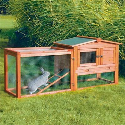 Trixie Natura Animal Hutch with Outdoor Run, 61 L X 20.75 W