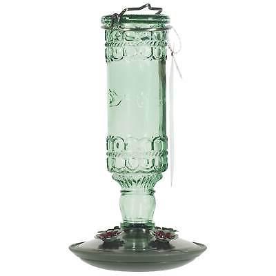 Perky-Pet 8107-2 Antique Bottle 10-Ounce Glass Hummingbird F