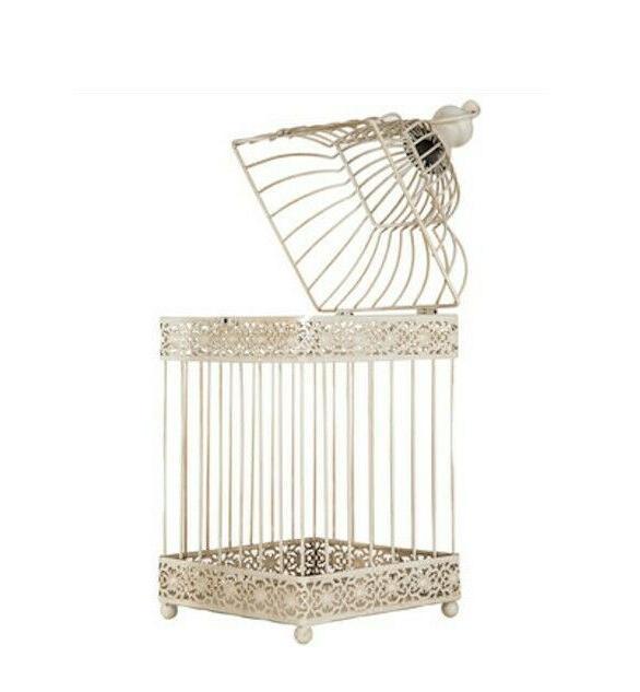 Antique Style White Decorative Cage Wedding