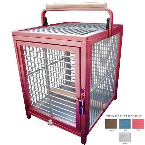 ATT ALUMINUM Bird pet Carrier toy crate