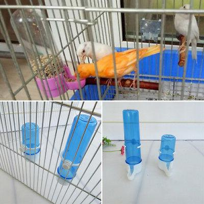 Automatic Bird Feeder Food Water Storage Cage .