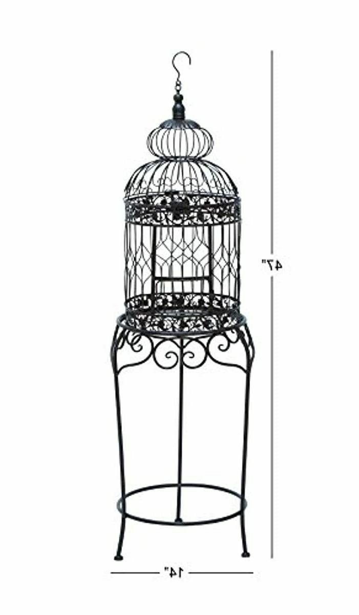 """Bird Cage, 47"""" H/14 W"""