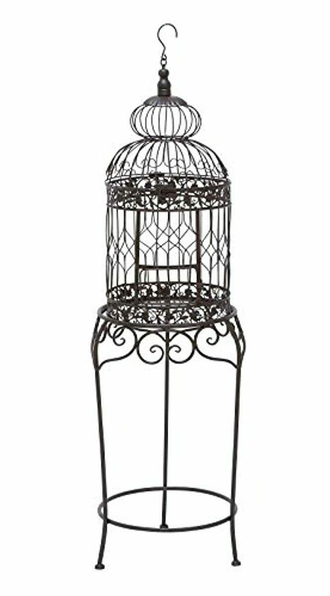benzara 55122 victorian style bird cage 47