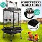 "Large Bird 68""Parrot Cage Pet Supplies Iron Play Top Finch w"