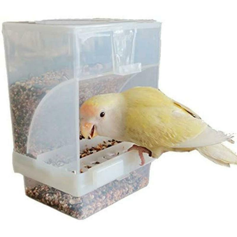 Pet Cages Auto Food Dispenser Feeders Mess