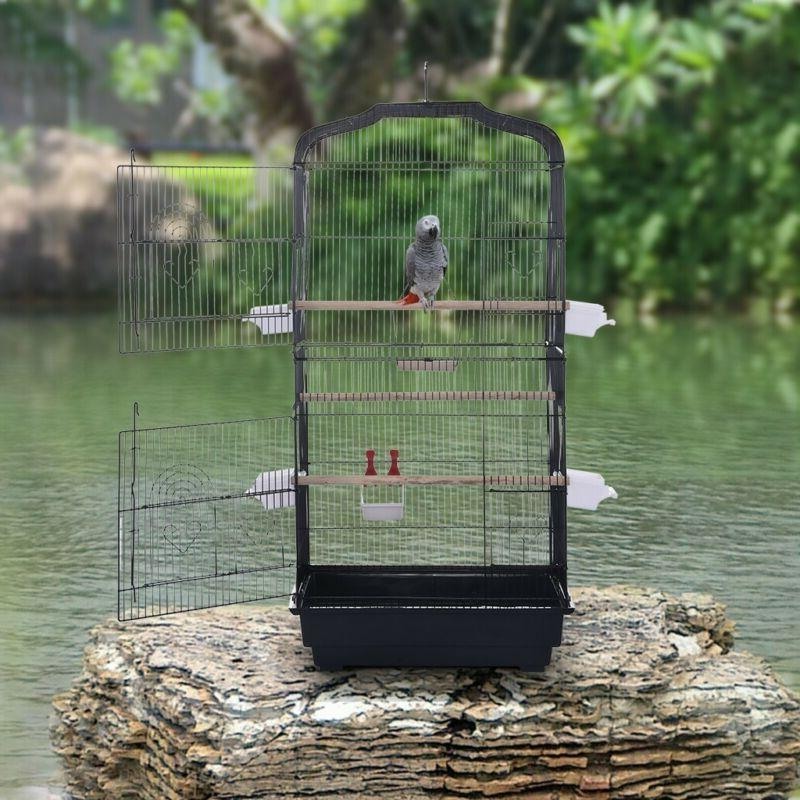 portable hanging bird cage for parrots canary
