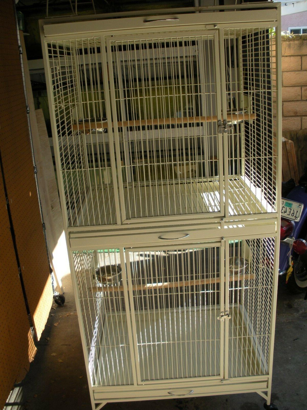 bird cage large double stack