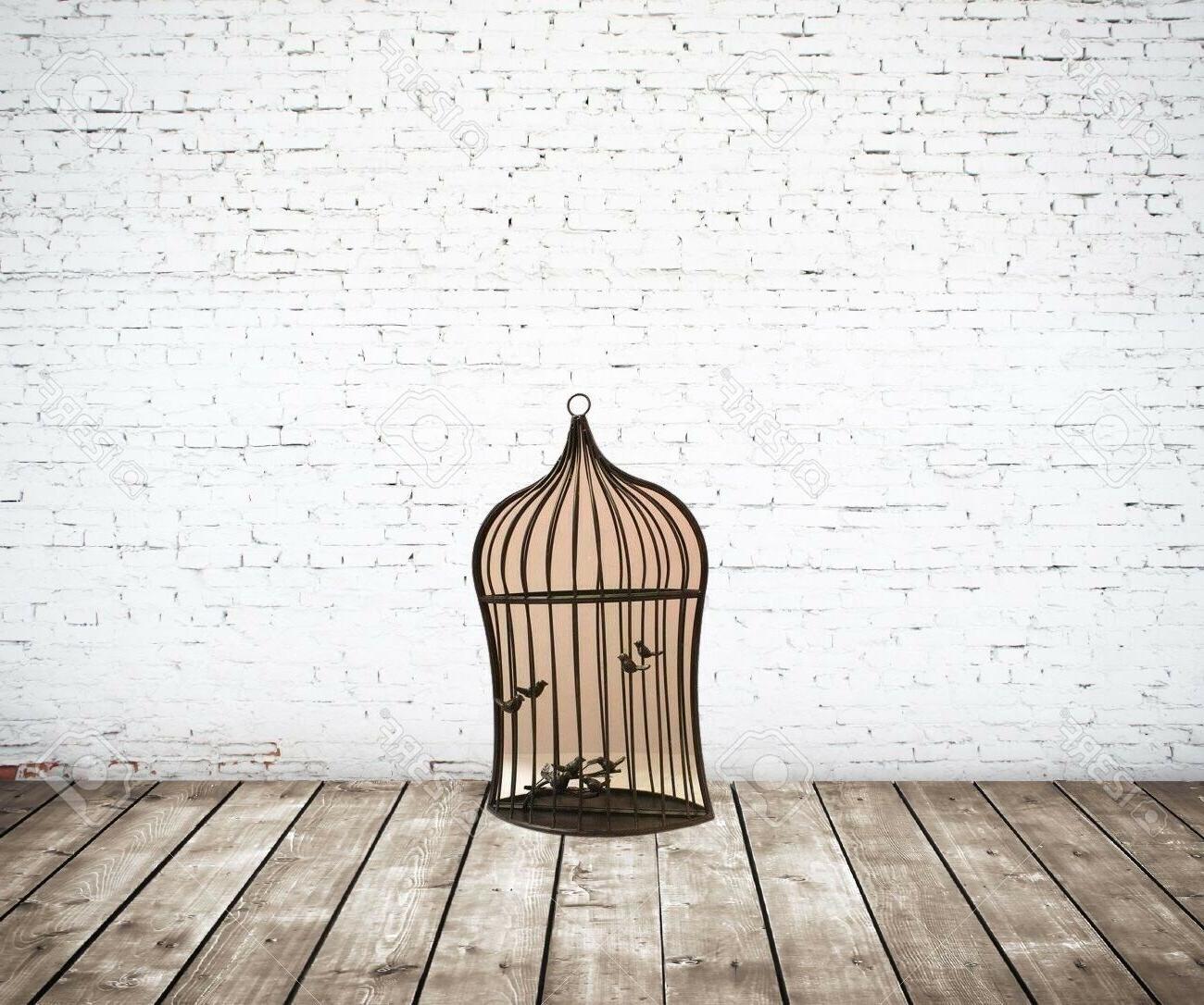 Benzara Bird Garden Hanger, Brown ETD-EN112262