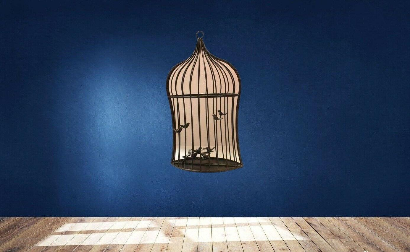 Benzara Bird Garden Mirror With Hanger, -
