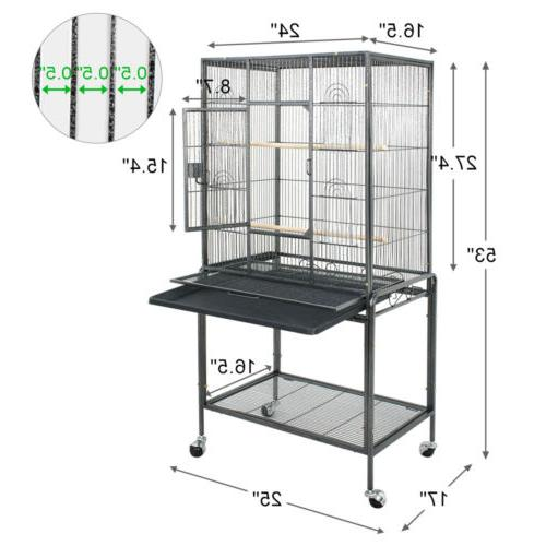 Bird Cage Top Bird Cage Supplies 53""