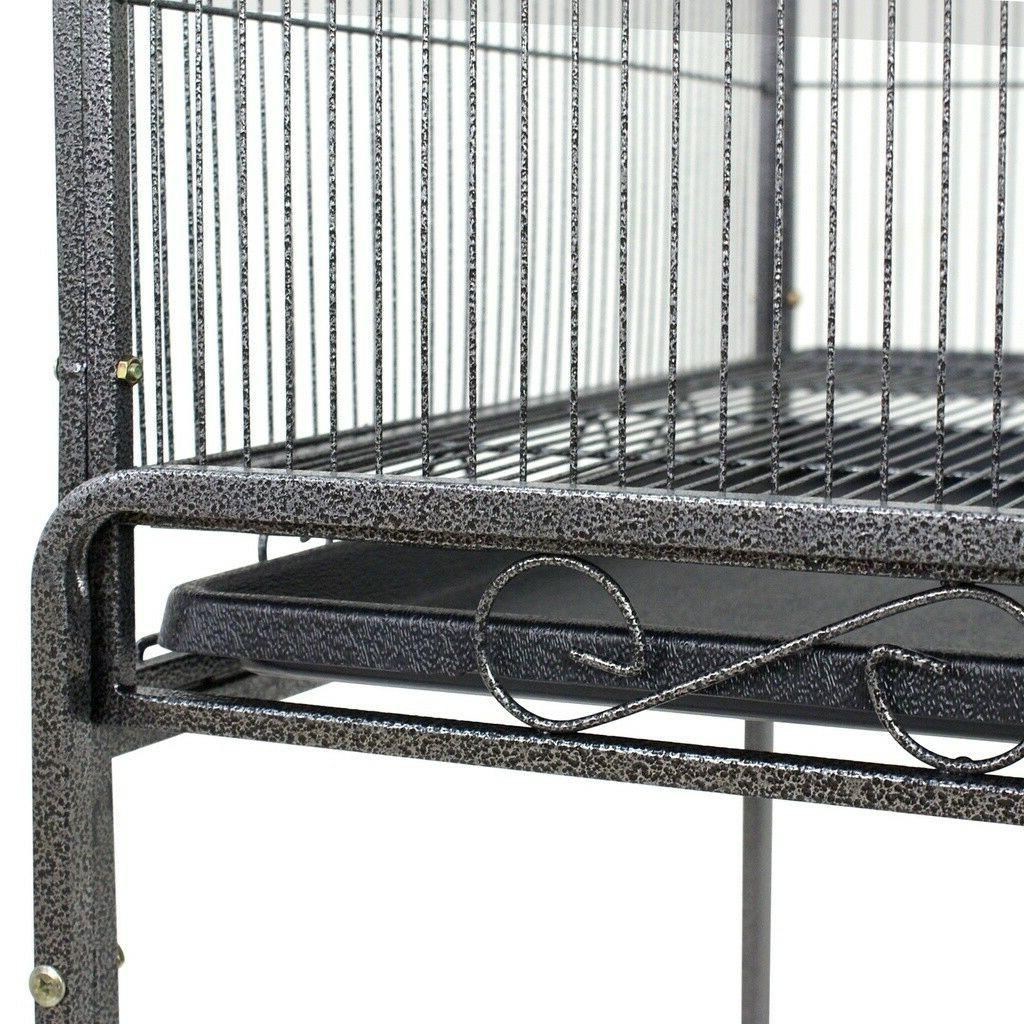 """Bird Play Top Finch Cage Macaw Supplies 53"""""""