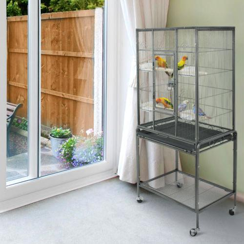 bird cage large play top bird parrot