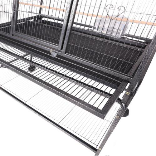 "69"" Pet Cage Bridge Ladder Parrot Chinchilla"