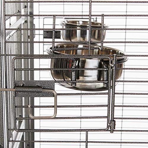 VECELA Bird Play Top Cage Inch Cage with Unique Birdcage Pet