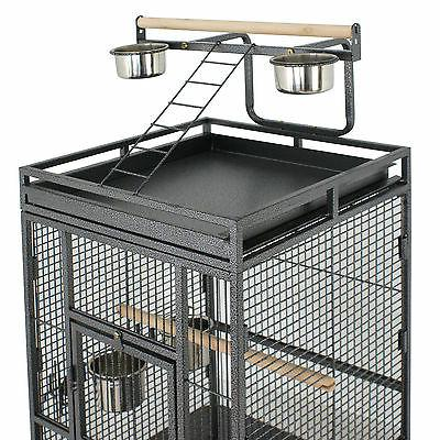 """61"""" Cage Top Non-Toxic Coated Steel House"""