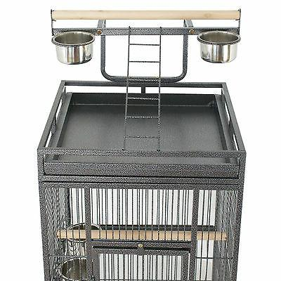 "61"" Large Cage Top Play Power Coated House"