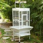 New Style Bird Cage Large Play Top Parrot Finch Cage Macaw C