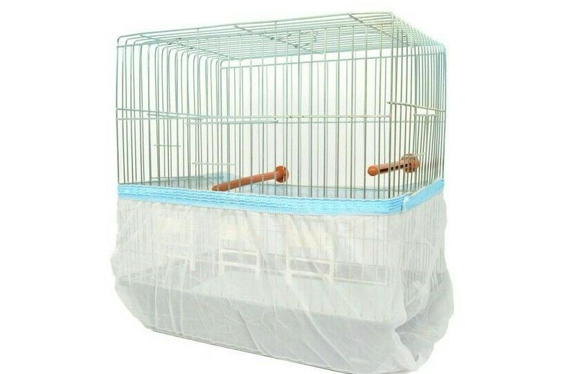 bird cage cover seed catcher guard sheer
