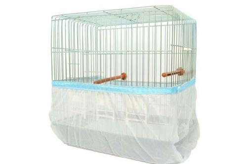 bird cage cover seed catcher guard tulle