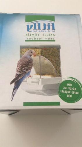Bird Cage No Bird Container Feedbox Automatic