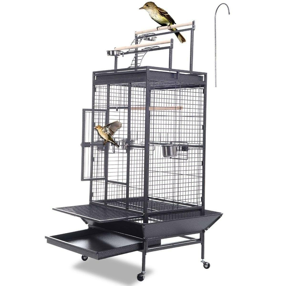 Giantex Bird Cage w/ Ladder Finch