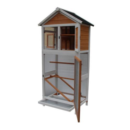 Bird Parakeet Canary Play House