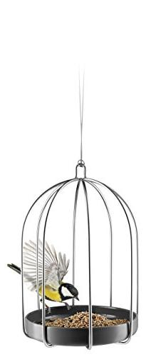 Eva Solo Bird Feeding Cage | Stainless Steel/Ceramic