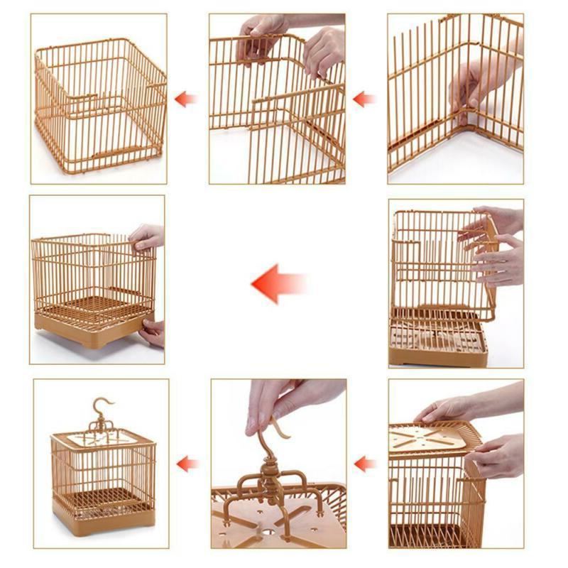 Plastic Cage Bird