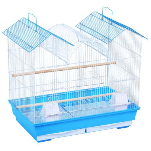Bird Parrot Budgie Cage Portable Travel Hanging Cage Small Pet Animal