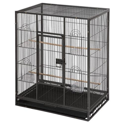 "53"" Large Bird Pet Cage Conure House Stand"