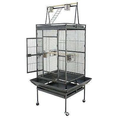 """68"""" Large Open Macaw Conure Aviary Cage"""