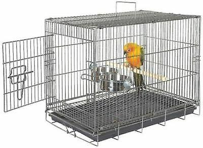 Travel Cage African Grey Amazon Eclectus