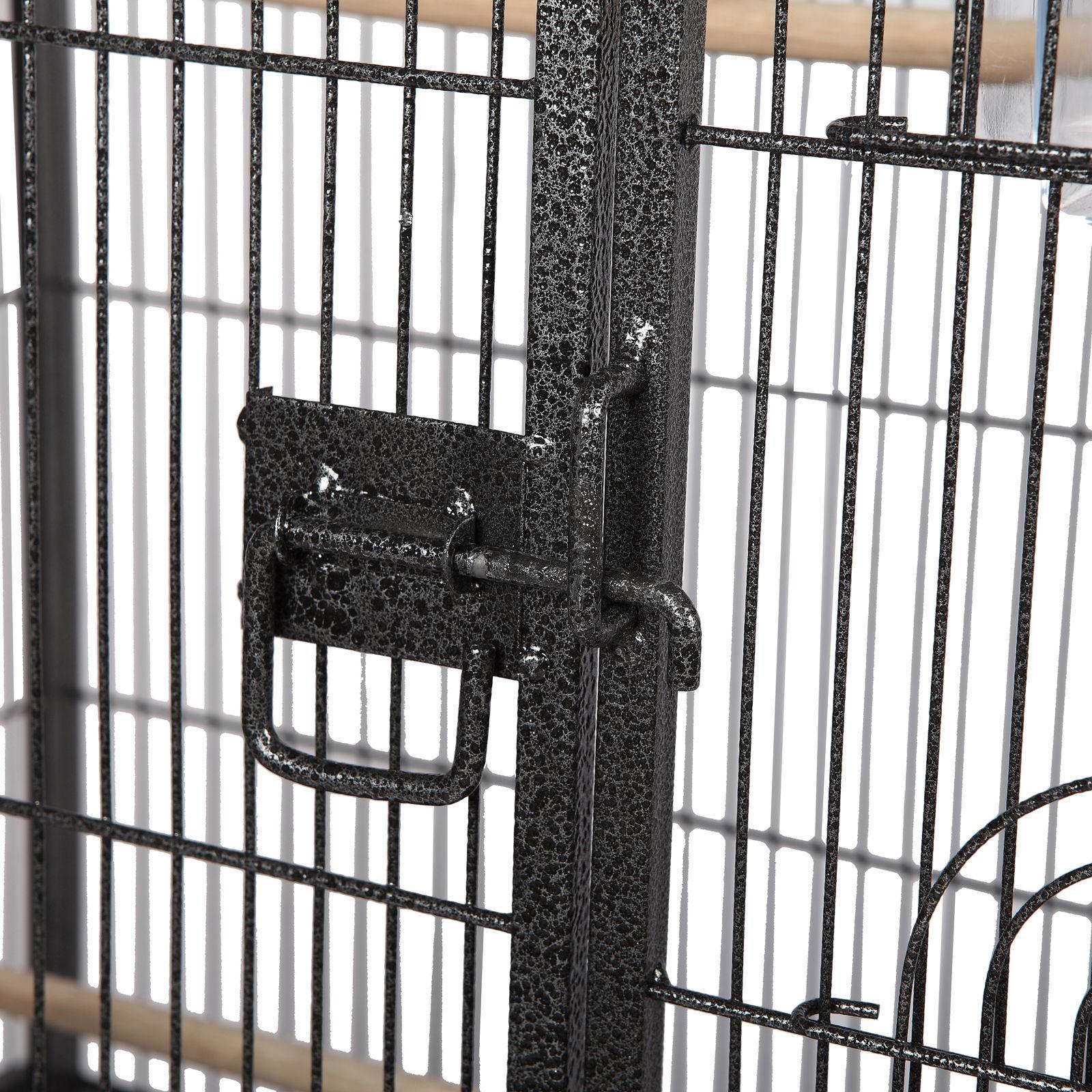 "53"" Large Bird Pet Cage Cockatiel Conure House Cups"