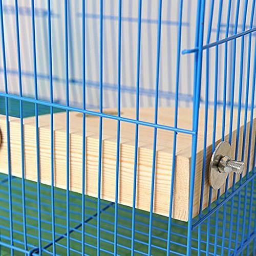 Mrli Pet Perch Platform Small Animals Conure Cockatiel Rat Chinchilla Cage Accessories Sector