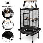 "68"" Large Bird Pet Cage Large Play Top Parrot Finch Cage Mac"