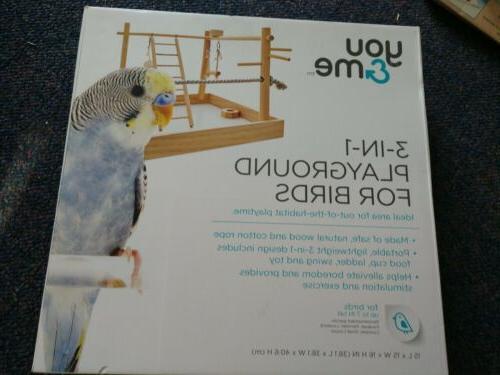 Bird Playground Gym Stand for Conures Cockatiel Parakeet Par