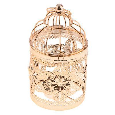 Birdcage Iron Candle Retro Hanging Lantern