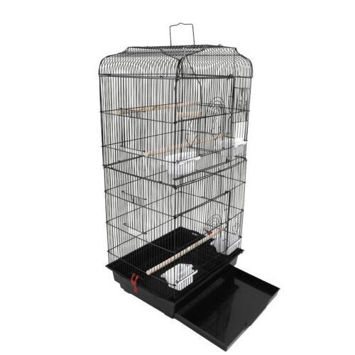 Black Cage Parakeet Bird Finch Bird